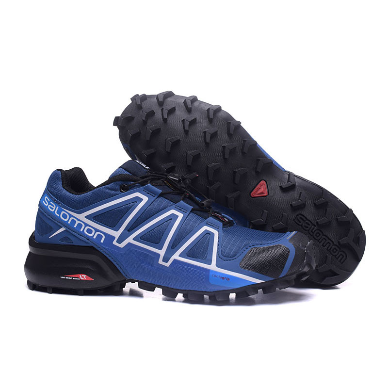 NEW ARRIVAL Salomon Speed Cross 4 CS Cross Country WATERPOOR men outdoor sports Shoes Fencing Shoes 40-46