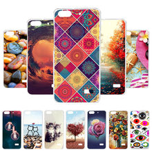 3D DIY Soft Case For Huawei Honor 4C Case For Honor 5 G Play Mini Silicone Painted Case Back Cover Fundas Coque Housing(China)