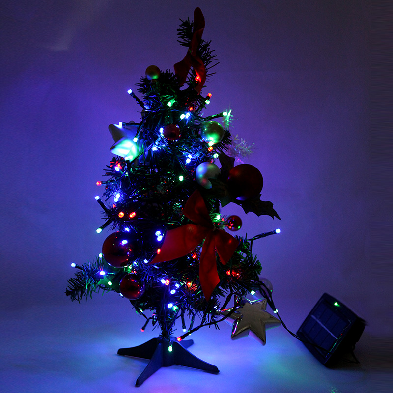 1 solar string lights 1 stake 1 user manual - Christmas Stake Lights