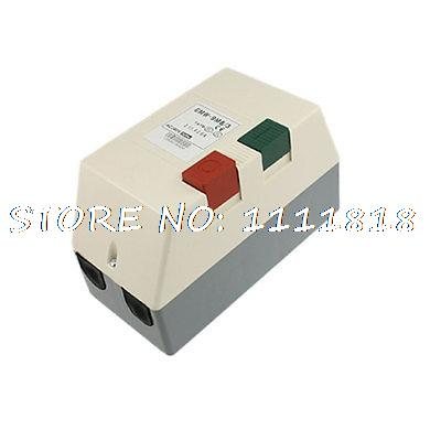 AC 380V 1.6-2.1A 1.3 HP Three Phase Adjustable Motor Control Magnetic Starter beroun hs650 10kw three phase 380v single phase 220v power remote control thermostat temperature control switch