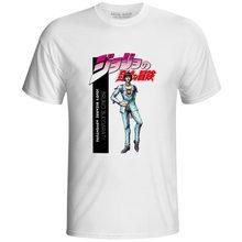 JoJo Bizarre Adventure Golden Wind Bruno Bucciarati T Shirt Pop Japanese Anime Cartoon T-shirt Novelty Casual Printed Unisex Tee цена