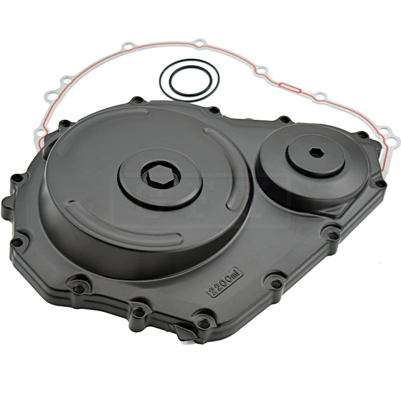 Fit for Suzuki GSXR600 GSXR750 2006 2007 2008 2009 GSXR 600 750 K6 K8 Motorcycle Crankcase Engine Stator cover Black left side motorcycle rear seat pillion passenger cover tail section solo fairing cowl for suzuki gsxr600 gsxr750 gsxr 600 750 2006 2007