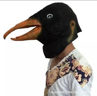Matouyang wolf head gorilla Penguin chicken monkey god annoying dog animal mask headgear Halloween funny mask