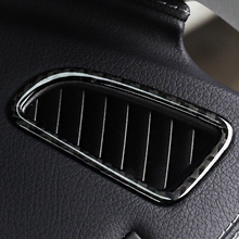 Carbon Fiber Outlet decorative Trim Cover Stickers Car Styling For Mercedes Benz GLC W205 New C Class