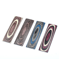 150x50x10mm Knife Handle Material Knife Scales Grips Knife Making Parts Laminated Wood Blanks