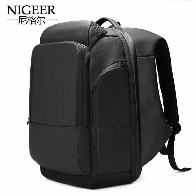0dbd721dc6f 18 inch Laptop Backpack USB Charging Anti Theft Backpack Men Travel  Backpack Waterproof School Bag Male