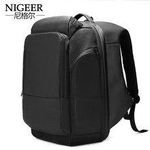 edd72d16f4fc 18 inch Laptop Backpack USB Charging Anti Theft Backpack Men Travel  Backpack Waterproof School Bag Male