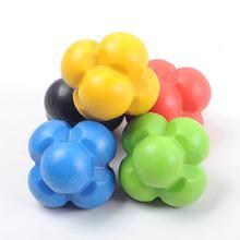 Boule de Massage à Six coins, vitesse de réaction, balle d'entraînement, Tennis de Table, Badminton, vitesse de réaction