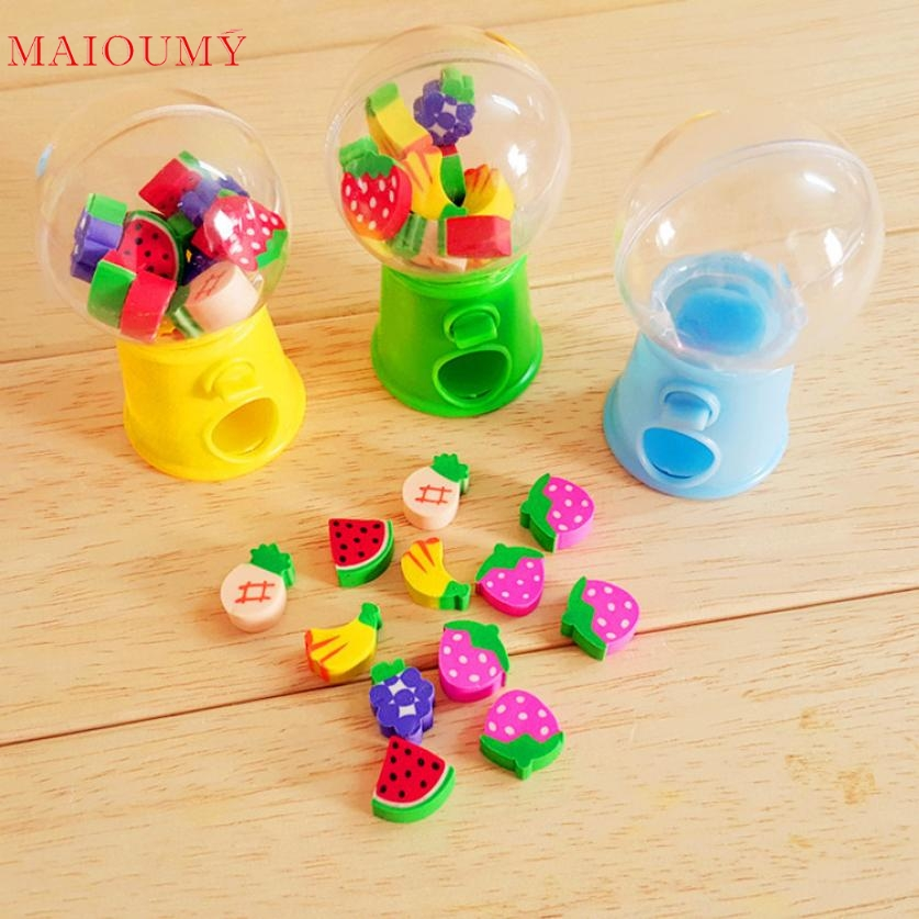 Lovely Hot Mini Candy Dispenser Gumball Vending Machine Coin Box Kid Baby Toy Wonderful2.24