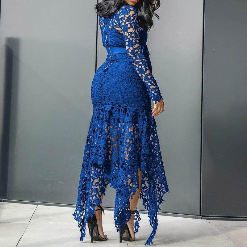 Dark blue-5xl Dark blue-5xl RFDEF LYQ//De Las Mujeres Tallas Grandes Vestido Tallas Grandes//Fiesta Casual Retazos hasta la Rodilla Escote Redondo Algod/ón