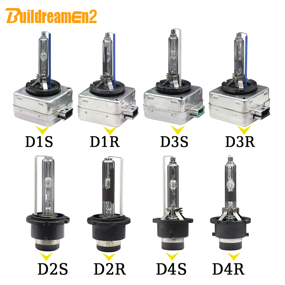 Buildreamen2 2 X 35W HID Xenon Light Bulb D1S D1C D2S D2C D2R D3S D3R D4S D4R 4300K 6000K 8000K 10000K 12V Car Headlight Lamp yy promation 35w d1 d1s d1c 6000k hid xenon light car headlight headlamp replacement bulb 4300k 5000k 8000k 10000k 12000k 30000k