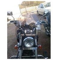 Smoke Motorcycle Windscreen Windshield For 1969 2015 Kawasaki Cruisers Standards Models As VN Vulcan 800 900