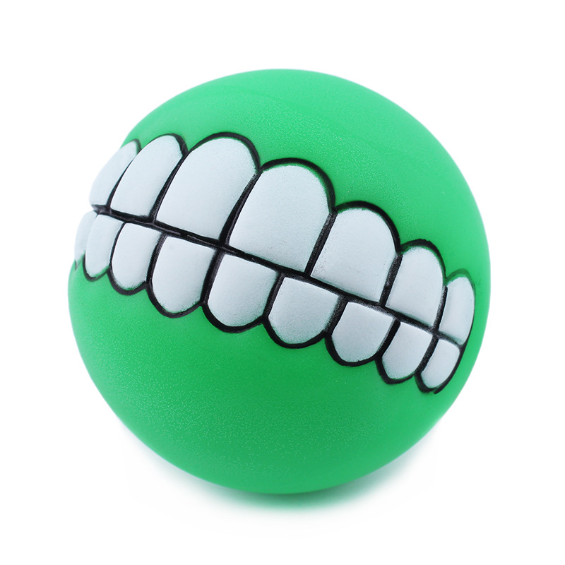 1PCS Dogs Toys Molars Sounds Bites Vocal Balls Cats Toys Pets Toys Teddy Big and Medium Training Toys