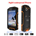 Original Huadoo HG04 IP67 Rugged Waterproof Shockproof Smartphone Quad Core 2GB 16G 4G FDD LTE Phone Android4.4 GPS 5s