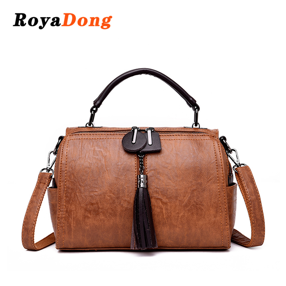 7364b7814c Detail Feedback Questions about Roya Dong Women Casual Tote Bag Female  Handbag Large Big Shoulder Bag for Women Tote Ladies Vintage Pu Leather Crossbody  Bag ...