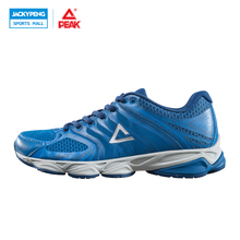 PEAK Sport Men Breathable Summer Athletic Shoes Mens Trainer Sport Shoes Light Men Running Shoes Walking