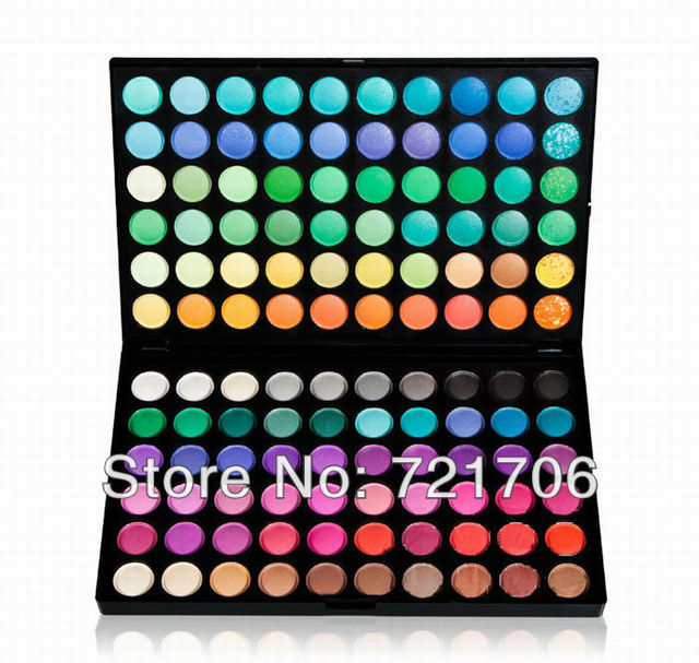 2013 new free shipping 120 Color Eyeshadow Cosmetics Mineral Make Up Makeup Eye Shadow Palette Kit