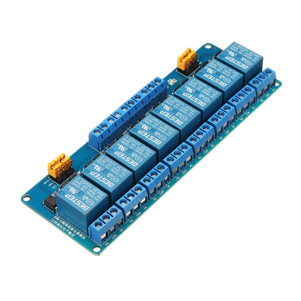 NEW 8 Channel 12V Relay Module High And Low Level Trigger For ArduinoNEW 8 Channel 12V Relay Module High And Low Level Trigger For Arduino
