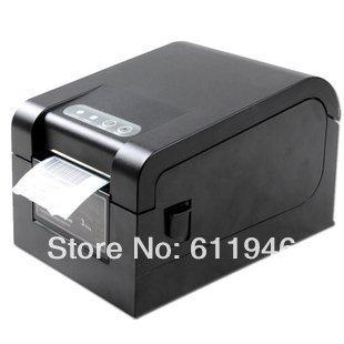 Envío de dhl 1 unids XP330B usb impresora de código de barras térmica directa impresión envío etiqueta software de edición