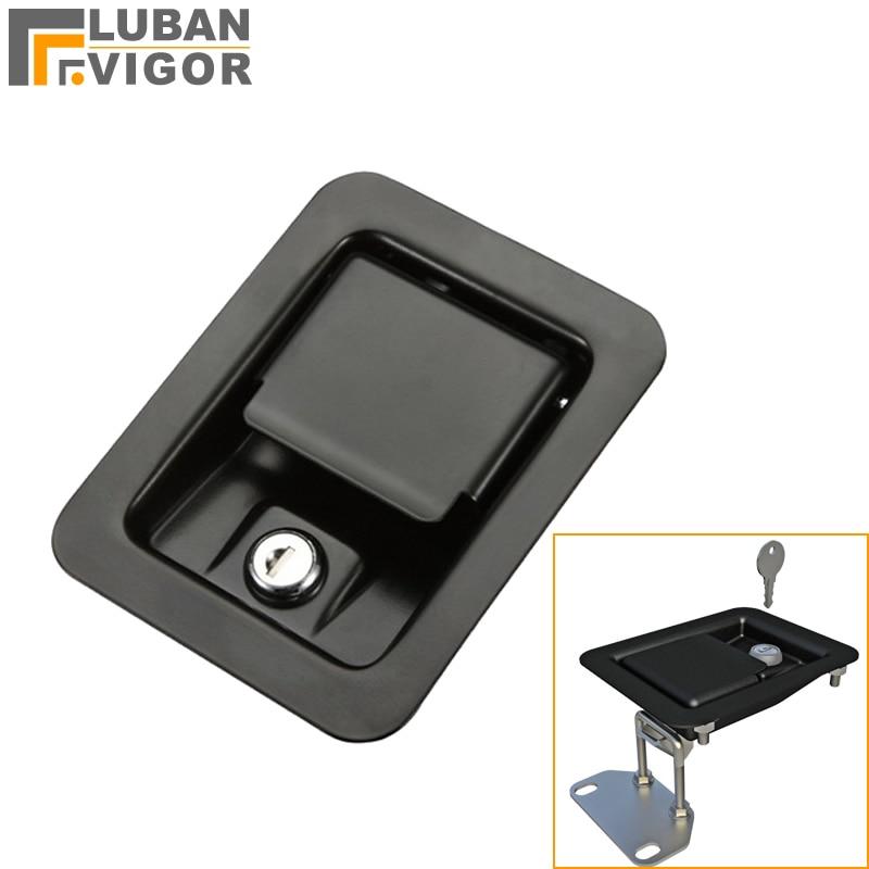 factory outlets ms839 pull panel cabinet lock steel bolt. Black Bedroom Furniture Sets. Home Design Ideas