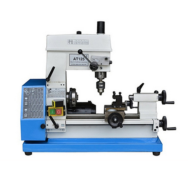 Hot Sale Household Milling Small Lathe Machine Tool Bench Multifunction AT125 Bench Drilling Machine Tool