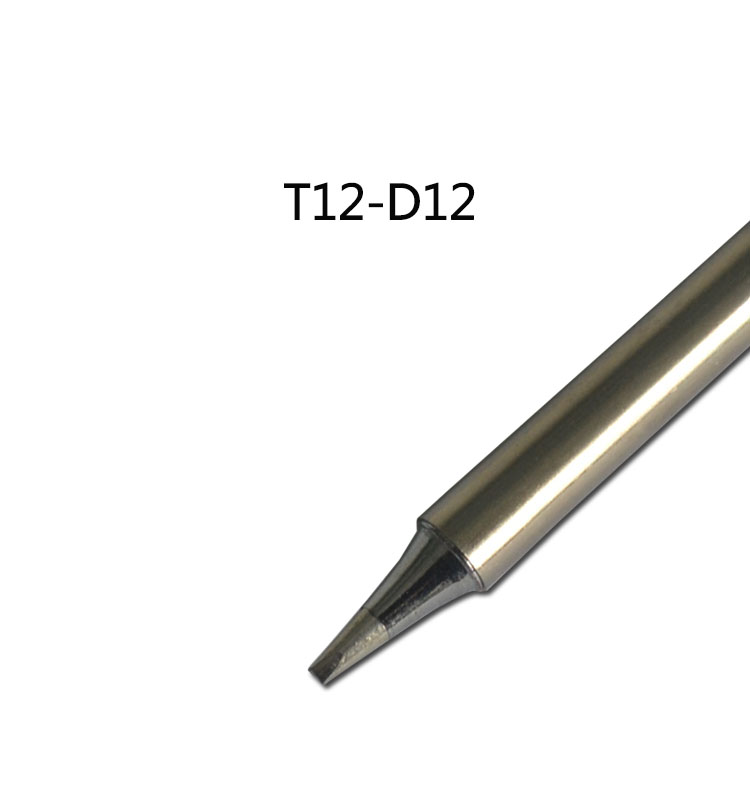 Gudhep T12-D12 Soldering Iron Tips for Hakko FX951 <font><b>FM203</b></font> Soldering Rework Station image