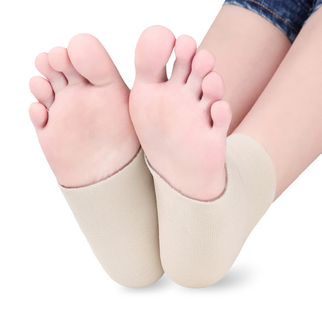 Feet Care Heel Cover Cushion Anti-slip Maintenance Foot Heel Protection Pads
