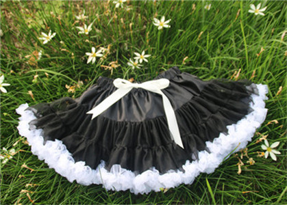Baby girls fluffy chiffon tutu pettiskirt Girls princess skirt Ballet dance tutu skirt for 18M-10years