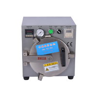 Third Generation Autoclave OCA LCD Bubble Remove Machine Middle size for Glass Refurbish without screws locked