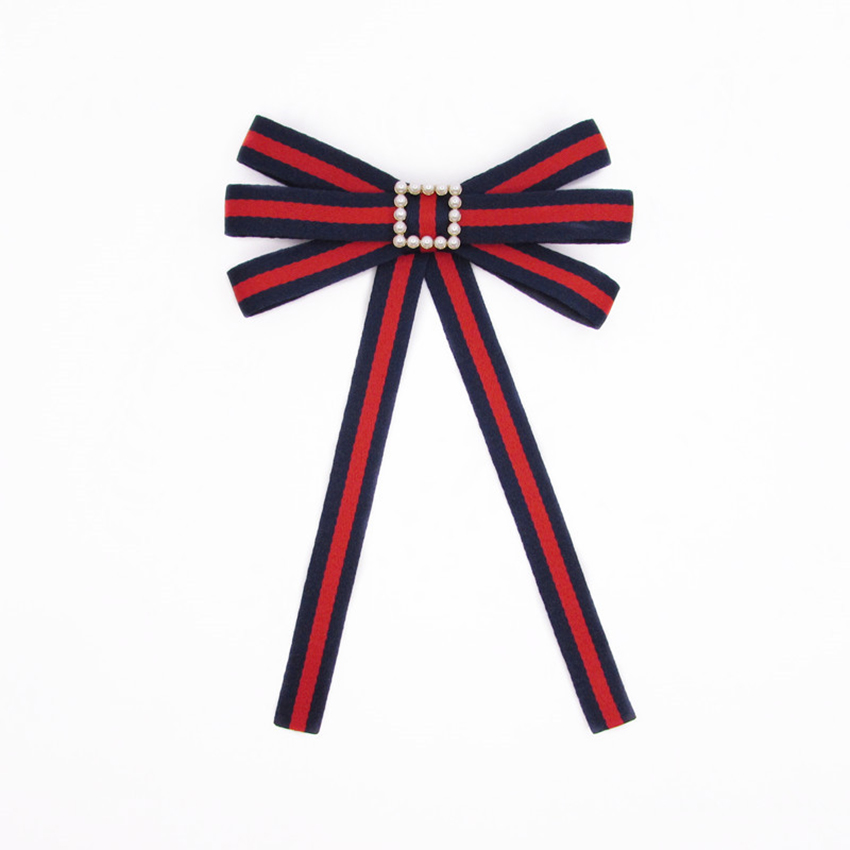 College style bowtie wedding party polyester striped bowknot women college style bowtie wedding party polyester striped bowknot women bow tie classic neck wear ribbon bowties shirt accessories in ties handkerchiefs from ccuart Image collections