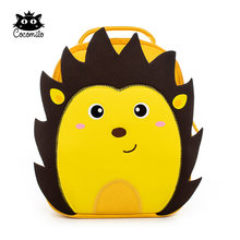 Cartoon 3D Hedgehog Kindergarten Zoo Animal Little Kids Small School Bag Light Lion Backpack 3-6 Years Girls Boys Toddler Bag(China)