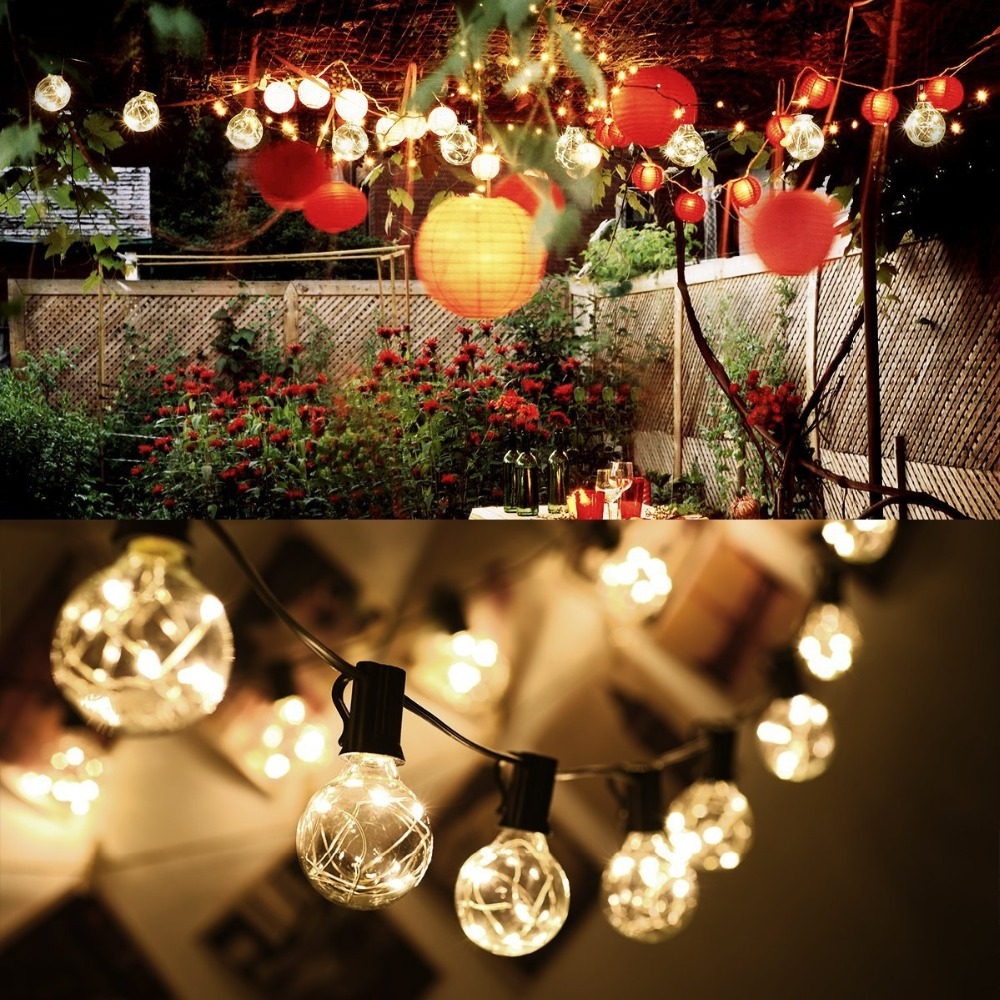 Gobble Ball Sting Lights Copper Wire LED light Outdoor Garden House Decoration Festival  ...