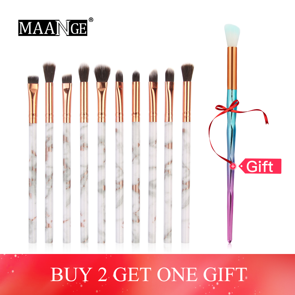 MAANGE Make up brush 7/10Pcs Multifunctional Makeup Brush Concealer Brush Set