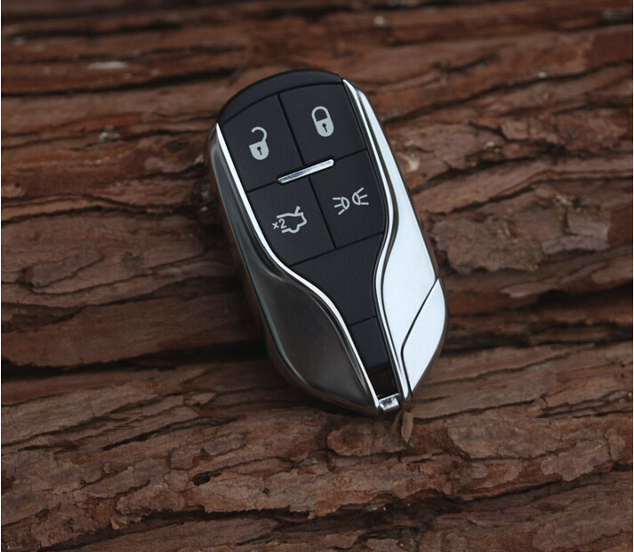 Smart Car Key Replacement >> 4 Buttons Replacement Smart Remote Key Shell Case For Maserati Quattroporte Ghibli Car Alarm ...