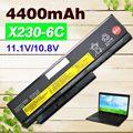 6 células 4400 mah bateria do portátil para lenovo thinkpad x230 x230s series para tablet 0a36285 0a36286 42t4877 42t4878