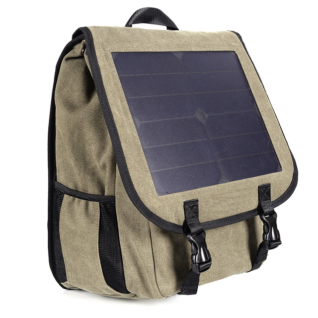 Multi-functional Solar Powered Charging Backpack  1
