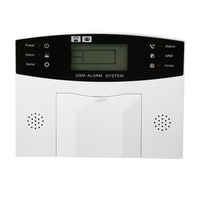 21pcs Anti Theft GSM Alarm System For Home Smart Voice LCD Display Alarm With Wireless Strobe