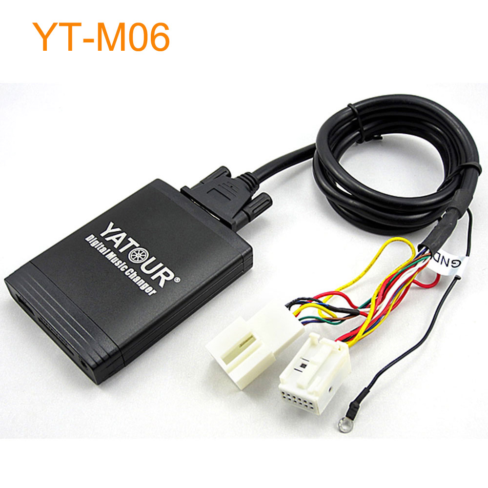 Car Digital font b Music b font MP3 CD Changer Adapter with USB AUX for Factory