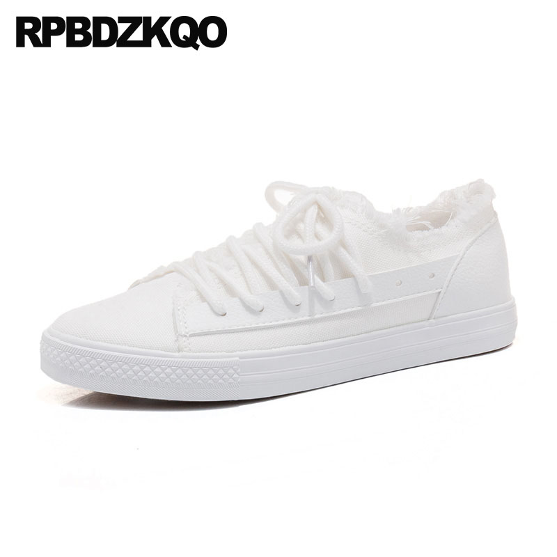 Lace Up Summer Rubber Sole Harajuku White Black Sneakers Flats Round Toe Green Chinese Women Designer Retro Canvas Shoes Casual 2017 patchwork lace up rubber sole canvas shoes breathable super leisure women casual shoes with flats student shoes rm 05