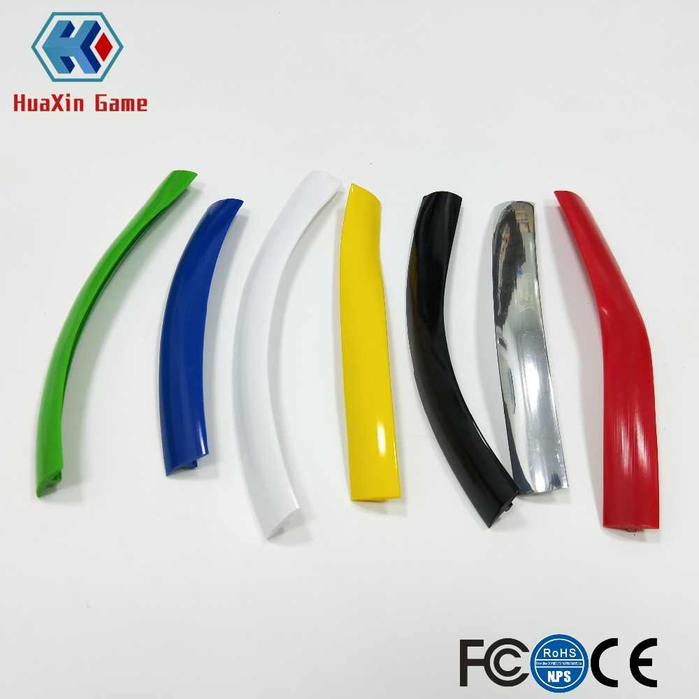 32.8ft 10m Length 16mm /19mm Width Plastic T-Molding T Moulding for Arcade MAME Game Machine Cabinet chrome/black