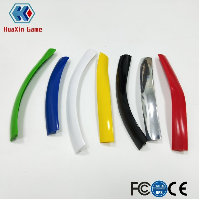 32 8ft 10m Length 16mm /19mm Width Plastic T-Molding T Moulding for Arcade  MAME Game Machine Cabinet chrome/black