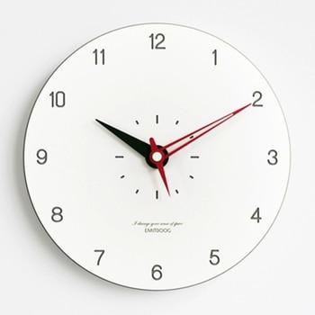 Wall Clock Living Room Vintage Wood Watch Decoration Art Kitchen Electronic Desk Retro Nordic Reloj De Pared Kids 50ZB0128