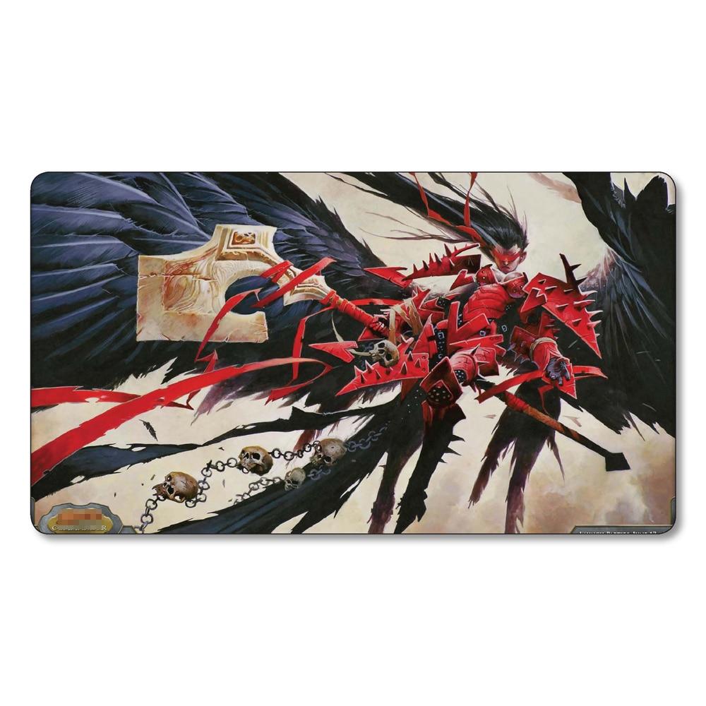 (Tariel Reckoner of Souls)Many Choice Magic Game Custom Playmat,Board Games MGT Play Mat,Custom Gather Big Mousepad Free Bag
