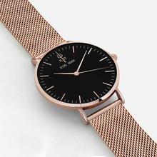 Women Watches Brand Luxury Fashion Quartz Ladies Watch Clock Rose Gold