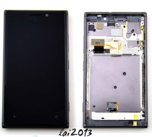 For Nokia Lumia 925 Black LCD Display Touch Screen Digitizer Assembly free tools+free shipping