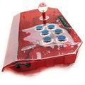 QANBA N1-G arcade joystick USB kabel arcade-spiel für PS3/PC/PC360/Android smart TV KOF transparent shell
