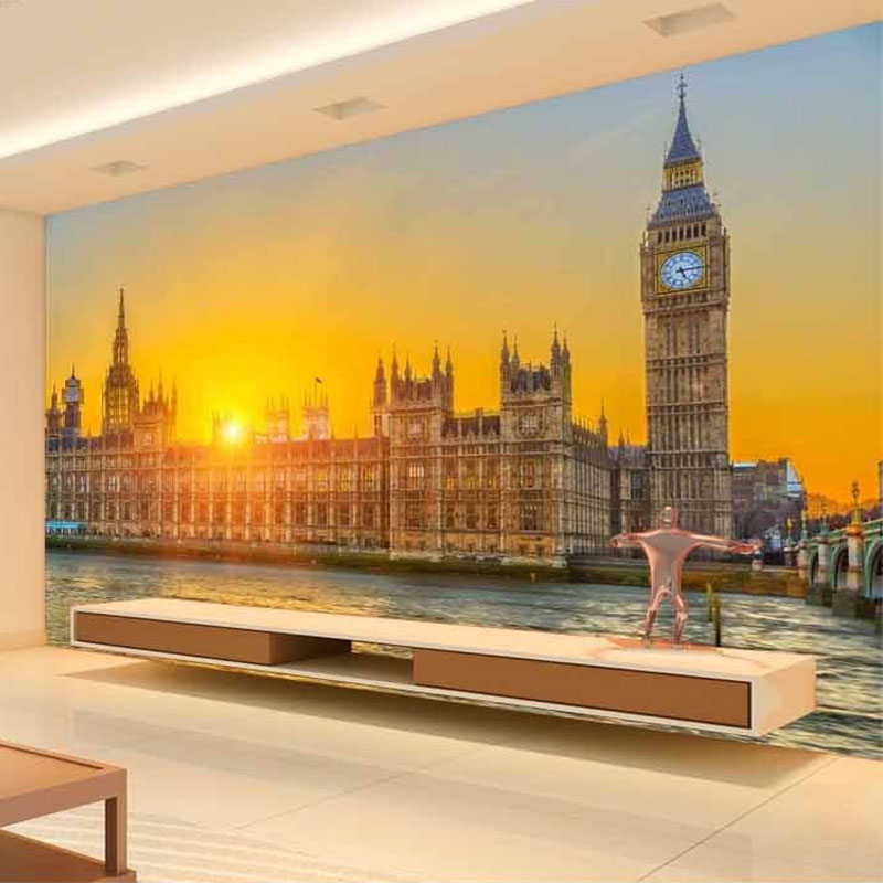 Popular simple landscape design buy cheap simple landscape for Mural 3d simple