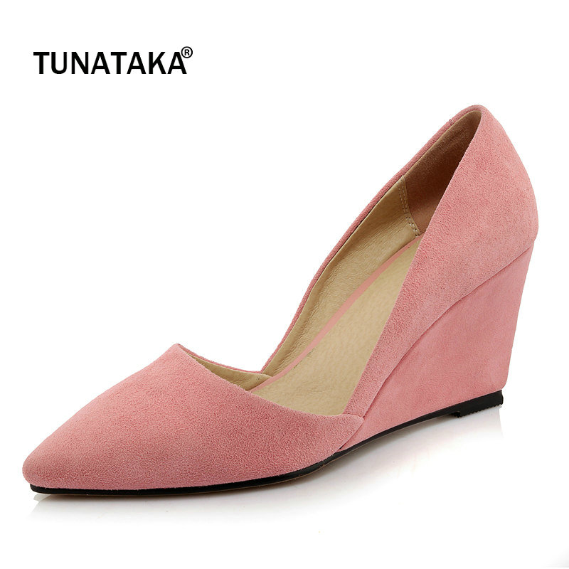 toe anmairon party buckle in comfort enmayer pumps sexy fashion item cross shoes closed wedges women on s comforter from platform round straps night
