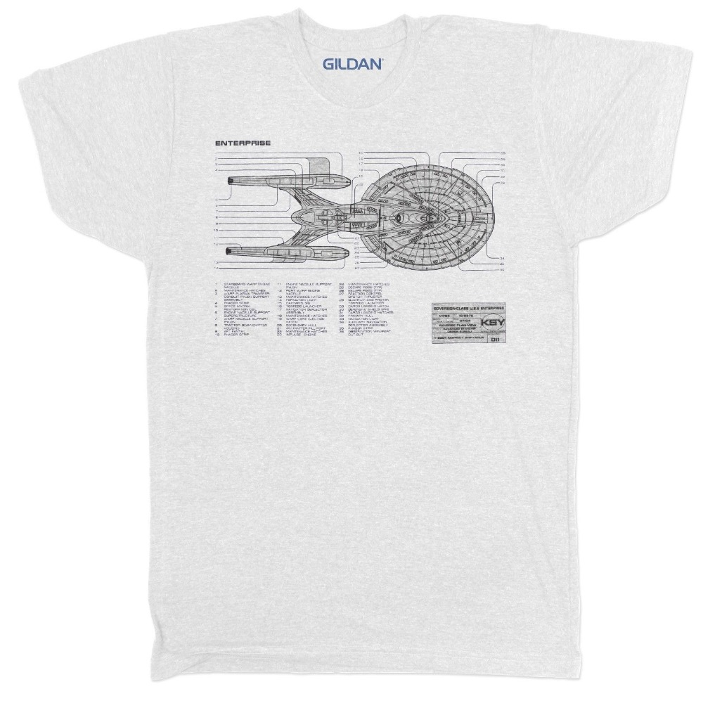 2018 fashion hot sale star trek uss enterprise blueprint movie film 2018 fashion hot sale star trek uss enterprise blueprint movie film retro geek classic t shirt tee shirt in t shirts from mens clothing accessories on malvernweather Image collections