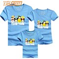 Family Look TSUM Print Mother Father Family Clothes New 2017 Summer Baby Children T Shirts Mother Son Outfits Men Women T shirt